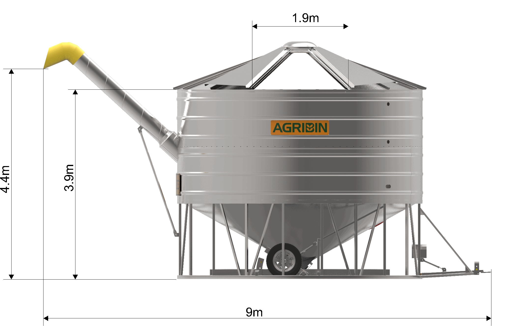 Agribin B-Double Bin
