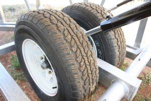 Agribin Road-Train Bin Wheels